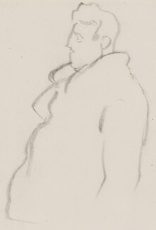 Brendan Behan, by Sir David Low - NPG 4529(21)