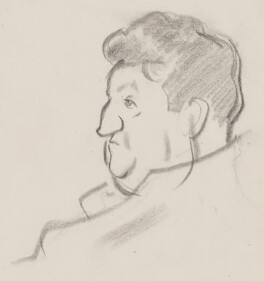 Brendan Behan, by Sir David Low - NPG 4529(22)