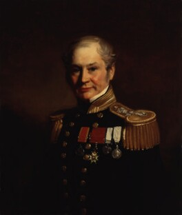 Sir Edward Belcher, by Stephen Pearce - NPG 1217