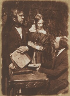 George William Bell, Lady Moncrieff (née Bell) and Thomas Blizzard Bell, by David Octavius Hill, and  Robert Adamson - NPG P6(97)