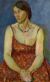 Vanessa Bell, by Duncan Grant, circa 1918 - NPG  - © National Portrait Gallery, London