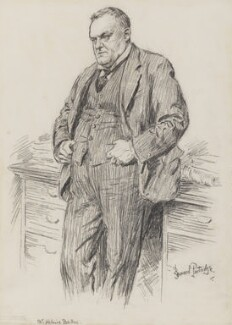 Hilaire Belloc, by Bernard Partridge - NPG 3664
