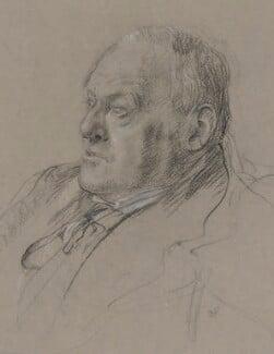 Hilaire Belloc, by Daphne Pollen (née Baring) - NPG 4008