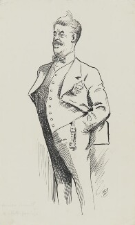 Arnold Bennett, by Harry Furniss - NPG 3422