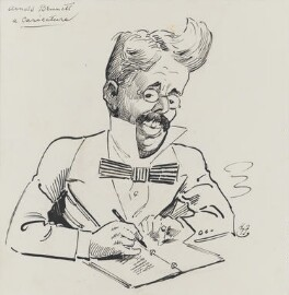 Arnold Bennett, by Harry Furniss - NPG 3423