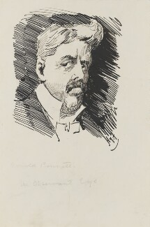 Arnold Bennett, by Harry Furniss - NPG 3424