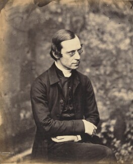 Richard Meux Benson, by Lewis Carroll - NPG P7(13)