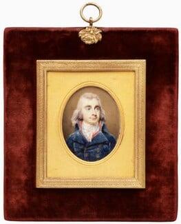 Samuel Bentham, by Henry Edridge - NPG 3069