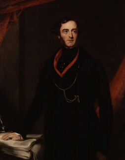 Lord George Cavendish Bentinck, by Samuel Lane - NPG 1515