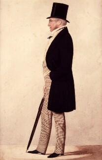 Lord Henry William Bentinck, by Joshua Dighton - NPG 3553