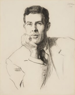 E.C. Bentley, by Hugh Goldwin Riviere - NPG 4931