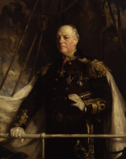 Charles William de la Poer Beresford, Baron Beresford, by Charles Wellington Furse - NPG 1935