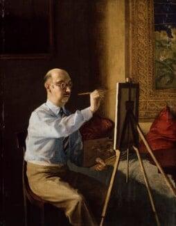 Gerald Tyrwhitt-Wilson, 14th Baron Berners, by Reginald John ('Rex') Whistler, 1929 - NPG 5050 - © National Portrait Gallery, London