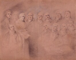 Mr Fox and his Friends, by William Lane, circa 1813 - NPG  - © National Portrait Gallery, London