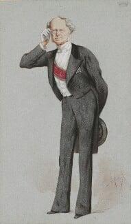 Friedrich Ferdinand, Count von Beust, by Carlo Pellegrini - NPG 4707(4)