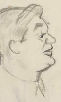 Aneurin Bevan, by Sir David Low, 1935 - NPG 4529(23) - © Solo Syndication Ltd