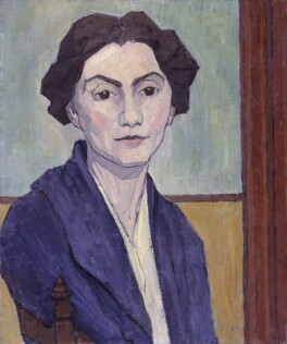 Stanislawa Bevan (née de Karlowska), by Robert Polhill Bevan, 1920 - NPG 5202 - © National Portrait Gallery, London