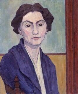 Stanislawa Bevan (née de Karlowska), by Robert Polhill Bevan - NPG 5202