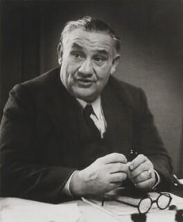 Ernest Bevin, by Felix H. Man - NPG P12