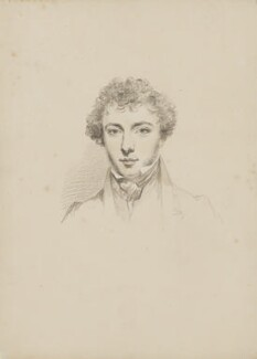 George Parker Bidder, by William Brockedon - NPG 2515(15)