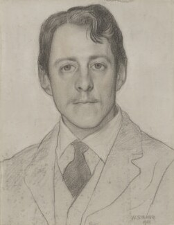 Laurence Binyon, by William Strang - NPG 3185