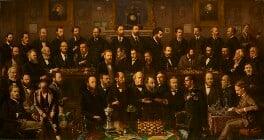 Chess players, by Anthony Rosenbaum, 1874-1880 - NPG 3060 - © National Portrait Gallery, London