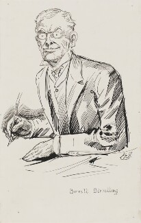 Augustine Birrell, by Harry Furniss - NPG 3344