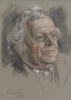 Augustine Birrell, by Randolph Schwabe - NPG 4431