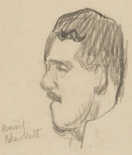 Sir Basil Phillott Blackett, by Sir David Low - NPG 4529(33)