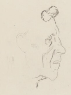 Patrick Maynard Stuart Blackett, Baron Blackett, by Sir David Low - NPG 4529(35)