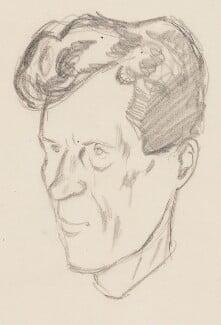 Patrick Maynard Stuart Blackett, Baron Blackett, by Sir David Low - NPG 4529(36)