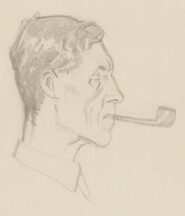 Patrick Maynard Stuart Blackett, Baron Blackett, by Sir David Low - NPG 4529(38)
