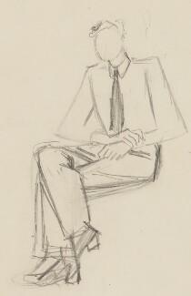 Patrick Blackett, by Sir David Low - NPG 4529(39)
