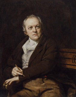 William Blake, by Thomas Phillips - NPG 212