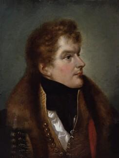 Charles John Gardiner, 1st Earl of Blessington, by James Holmes, circa 1812 - NPG 1523 - © National Portrait Gallery, London