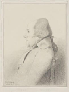 William Bligh, by George Dance - NPG 1138