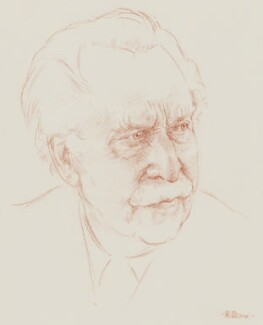 Sir Arthur Bliss, by Richard Stone - NPG 5055