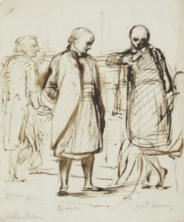 Sir John Gurney; Charles James Blomfield; Henry Edward Manning, by George Richmond - NPG 4166