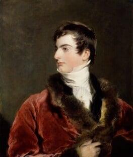 John Arthur Douglas Bloomfield, 2nd Baron Bloomfield, by Sir Thomas Lawrence - NPG 1408