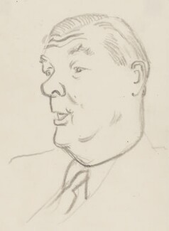 Sir Michael Blundell, by Sir David Low - NPG 4529(41)