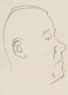 Sir Michael Blundell, by Sir David Low - NPG 4529(42)