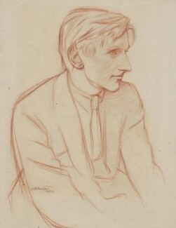 Edmund Blunden, by William Rothenstein - NPG 4977