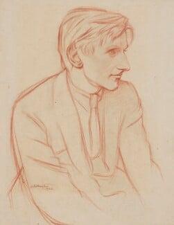 Edmund Blunden, by Sir William Rothenstein, 1922 - NPG 4977 - © National Portrait Gallery, London