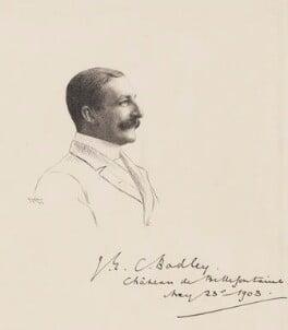 John Edward Courtney Bodley, by Robert Kastor - NPG 2278