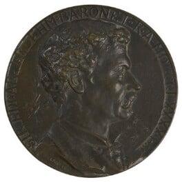 Sir Joseph Edgar Boehm, 1st Bt, by Edward (Edouard) Lanteri, 1891 -NPG 5273 - © National Portrait Gallery, London