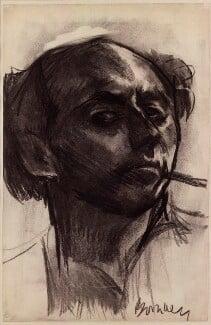 David Bomberg, by David Garshen Bomberg, 1931 - NPG  - © National Portrait Gallery, London