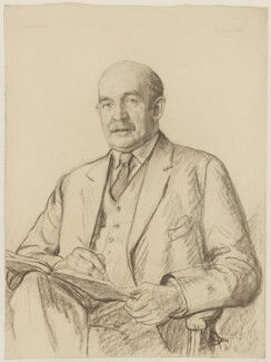 Sir Muirhead Bone, by Francis Dodd - NPG 4428