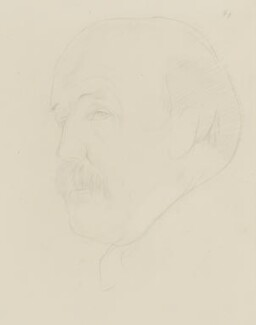 Sir Muirhead Bone, by Sir Stanley Spencer - NPG 4453