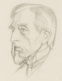 Charles Booth, by William Rothenstein - NPG 4765