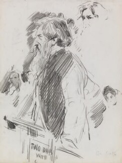 William Booth, by Sydney Prior Hall - NPG 2383